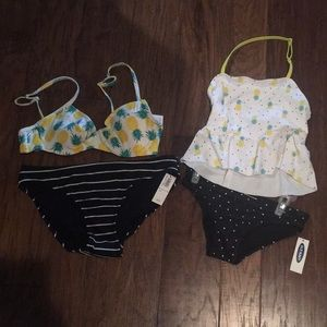 NWT Mother daughter matching swimsuits!